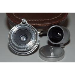 CANON LENS 28mm f:3.5 CON VISOR Y ESTUCHE
