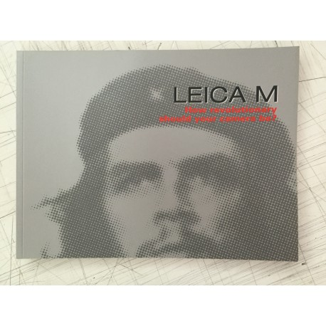 LEICA M BROCHURE, CHE GUEVARRA, 62 pages, NEW, FOR COLLECTOR