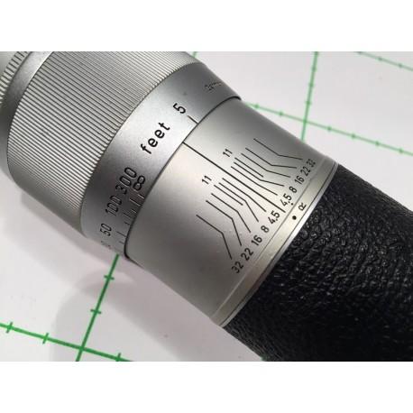 LEITZ LEICA HEKTOR 13.5cm 1:4.5 - chrome - SERIAL 1127019 -