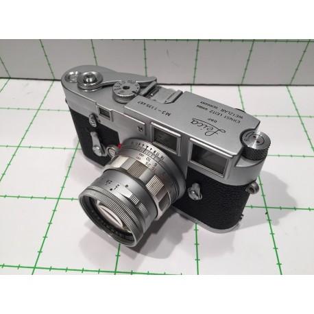 LEITZ M3 SS,FS,DA, Nº1135467 (1966) + RIGID SUMMICRON 2/50 2092972 (1965