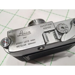 LEITZ LEICA MD POST (or M3 POST?) 24X27mm, serial 928930 (1958)