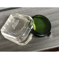 LEITZ LEICA FIPOS A36mm CLIP-ON GREEN FILTER w/orig plastic case