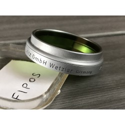 "LEITZ LEICA FIPOS GREEN ""GGr"" PUSH-ON A36 FILTER"
